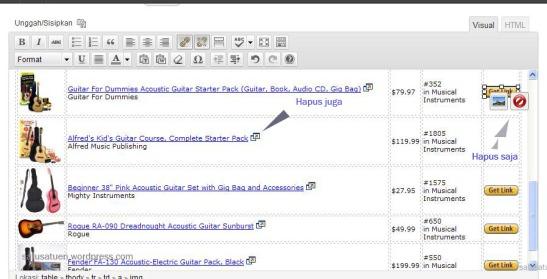 cara memasang iklan amazon di blog