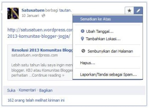 Mengenal Pinned Post dalam Grup Facebook