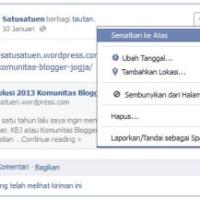 Mengenal Pinned Post dalam Grup Facebook