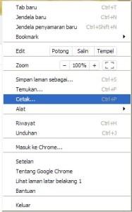 cara save as pdf dengan chrome