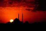 siluet masjid bayangan masjid